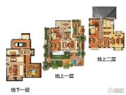 融创・玖礼5室3厅5卫339平方米户型图