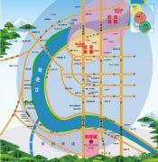 欧亚城・御龙湾交通图