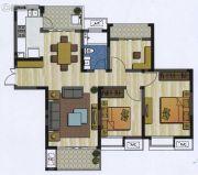 新加坡尚锦城3室2厅1卫109平方米户型图