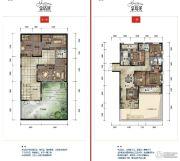 公园19034室2厅2卫137--147平方米户型图