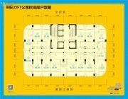 呈邦摩根时代1室1厅1卫31--55平方米户型图
