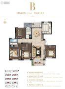 星公元名邸4室2厅2卫143平方米户型图
