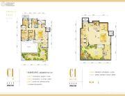 华润二十四城4室2厅2卫168平方米户型图