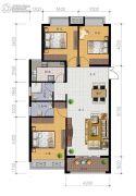 广弘豪庭3室2厅1卫0平方米户型图