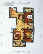 景园・盛世华都2室2厅1卫103平方米户型图
