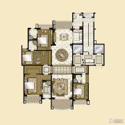 雅居乐・星河湾4室3厅4卫306平方米户型图