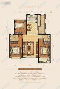 天成和园3室2厅2卫0平方米户型图