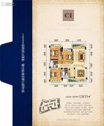 友豪・新世界3室2厅2卫118平方米户型图