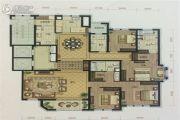 依云郡小区4室2厅3卫241平方米户型图