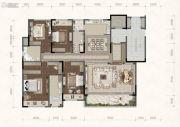 融创碧桂园望江府4室2厅3卫0平方米户型图