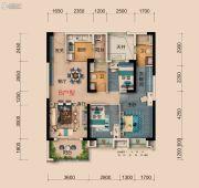 襄阳碧桂园3室2厅2卫105平方米户型图
