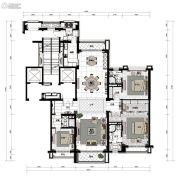 沈阳星河湾3室3厅3卫245平方米户型图