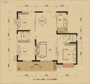 鸿润・叠韵3室0厅0卫143平方米户型图