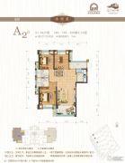 闽江世纪城3室2厅2卫106平方米户型图