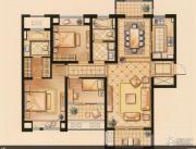 华润橡树湾3室2厅2卫0平方米户型图