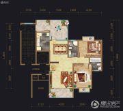 开元新世界2室2厅2卫0平方米户型图