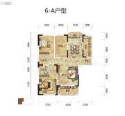 骧龙国际二期3室2厅2卫123平方米户型图
