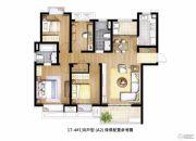信义嘉庭4室2厅2卫0平方米户型图