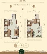 龙山广场5室2厅4卫267平方米户型图
