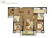 龙湖・春江悦茗3室2厅2卫106平方米户型图