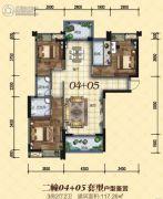 龙光・尚悦轩3室2厅2卫117平方米户型图