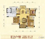 凯莱国际3室2厅2卫0平方米户型图