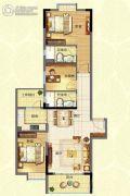 宏康小筑3室2厅2卫0平方米户型图