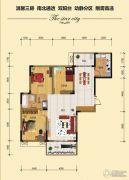 金江星城3室2厅1卫112平方米户型图