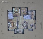 华润・二十四城3室2厅2卫108平方米户型图