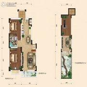融城7英里2室2厅1卫84平方米户型图