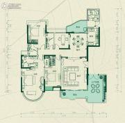合生愉景湾5室2厅3卫220平方米户型图