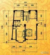 酉酉LOFT公寓2室1厅1卫136平方米户型图