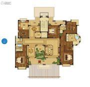 野风启城5室3厅3卫295平方米户型图