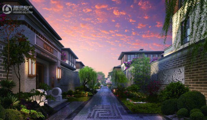 北科建泰禾·丽春湖院子景观效果图