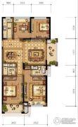 农房尚海湾4室2厅2卫130平方米户型图