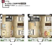 福星惠誉榜YOUNG0室0厅0卫100平方米户型图