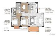澄湖壹号院3室2厅2卫0平方米户型图