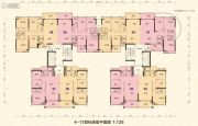 大悦花园4室2厅3卫109--135平方米户型图