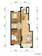 苏宁绿谷庄园2室2厅1卫91--95平方米户型图