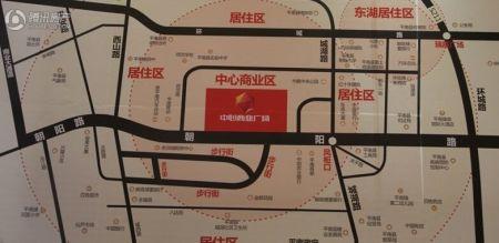 中心商业广场