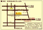 银投乾坤国际城交通图