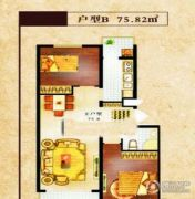 尊翔・隆盛园2室2厅1卫0平方米户型图