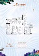 漯河碧桂园5室2厅3卫231平方米户型图