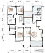 海逸一号5室3厅3卫316平方米户型图