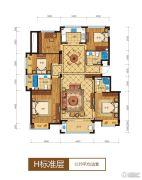 滨江西溪之星3室2厅2卫108平方米户型图