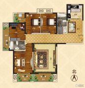 新龙御都国际4室2厅2卫179平方米户型图