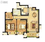启迪协信・无锡科技城3室2厅1卫78平方米户型图