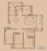 致远・翡翠园4室2厅2卫0平方米户型图