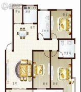 联太翡翠雅苑3室2厅2卫110平方米户型图