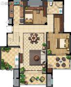 玉潭花溪2室2厅2卫0平方米户型图